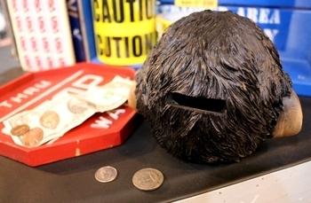 MONKEY HEAD BANK サルの顔貯金箱 アメリカ雑貨屋 SUNBRIDGE