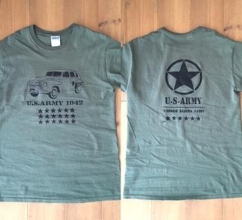 オリジナルステンシル アメリカ陸軍 星  アメリカ雑貨屋 SUNBRIDGE