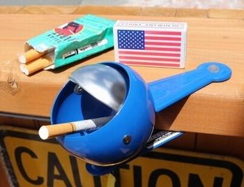 ダルトンクリップアシュトレイ DULTONクリップ灰皿  アメリカ雑貨屋 SUNBRIDGE