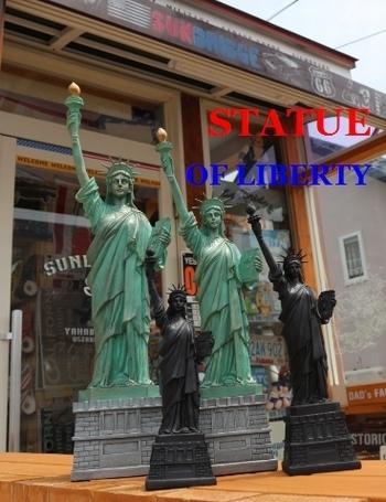 自由の女神オブジェ ブラック女神 STATUE OF LIBERTY アメリカ雑貨屋 SUNBRIDGE
