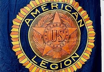 ビンテージリーガンフラッグ AMERICAN LEGION  ミリタリー雑貨 アメリカ雑貨屋 SUNBRIDGE