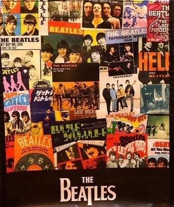 ビートルズバッグ カレッジトート  The Beatles エコバッグ アメリカ雑貨屋 SUNBRIDGE