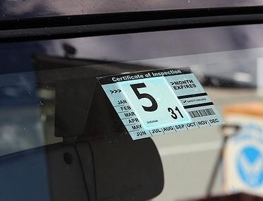 車の検査標章ステッカー<div><br></div>アメリカ雑貨屋 サンブリッヂ 雑貨通販 車検ステッカー