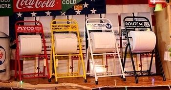 TOILETPAPER HOLDER 組み立て式トイレットペーパーホルダー エアフォース ルート66 レディキロワット MYCO アメリカン雑貨 アメリカ雑貨屋 SUNBRIDGE 岩手