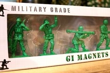 ソルジャーマグネット GI MAGNETS アメリカ雑貨屋 サンブリッジ SUNBRIDGE 岩手