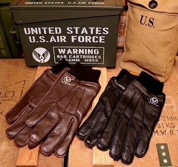 エアフォース手袋 ミリタリーグローブ TYPE A-10レプリカ手袋 アメリカ雑貨屋サンブリッヂ SUNBRIDGE 岩手雑貨屋 アメリカ雑貨通販