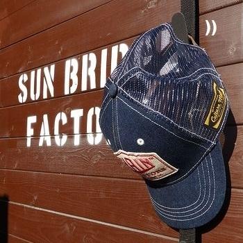 キャップラック9 帽子掛け アメリカ雑貨屋サンブリッヂ SUNBRIDGE 岩手雑貨屋