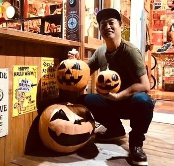 ハロウィン かぼちゃ アメリカ雑貨屋サンブリッヂ SUNBRIDGE 岩手雑貨屋