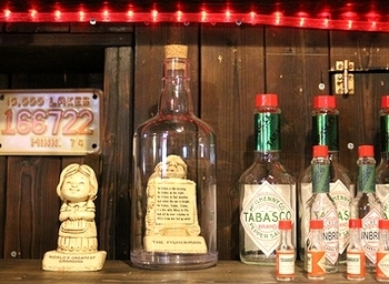 インポッシブルボトル ディスプレイボトル アメリカ雑貨屋サンブリッヂ SUNBRIDGE 岩手雑貨屋 アメリカ雑貨通販