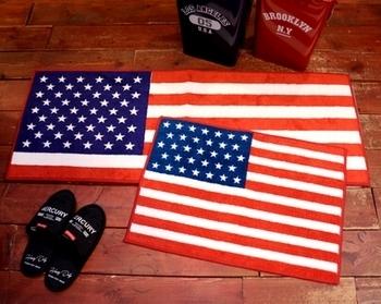 星条旗マット アメリカマット  アメリカ雑貨屋サンブリッヂ SUNBRIDGE 岩手雑貨屋 アメリカ雑貨通販