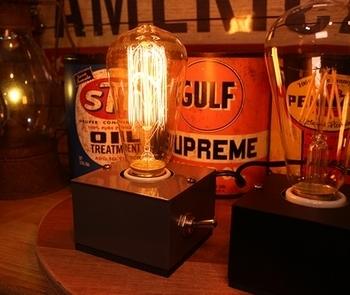 エジソン電球ライト 卓上エジソンランプ