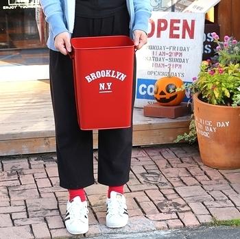 レッジカン カレッジゴミ箱 アメリカンゴミ箱 ブリキダストボックス  アメリカ雑貨屋 SUNBRIDGE 岩手雑貨屋 矢巾雑貨屋