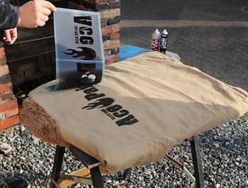N-1デッキジャケットステンシル ミリタリージャケットステンシル加工 アメリカ雑貨屋サンブリッヂ SUNBRIDGE 岩手雑貨屋 アメリカ雑貨通販