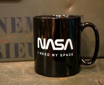 NASAマグカップ ナサマグカップ ワームロゴマグ アメリカ雑貨屋サンブリッヂ SUNBRIDGE 岩手雑貨屋 アメリカ雑貨通販