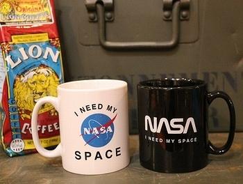 NASAマグカップ ナサマグカップ アメリカ雑貨屋サンブリッヂ SUNBRIDGE 岩手雑貨屋 アメリカ雑貨通販