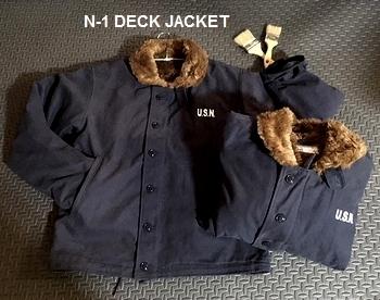N-1デッキジャケット N1ジャケット デッキジャケット アメリカ雑貨屋サンブリッヂ SUNBRIDGE 岩手雑貨屋 アメリカ雑貨通販