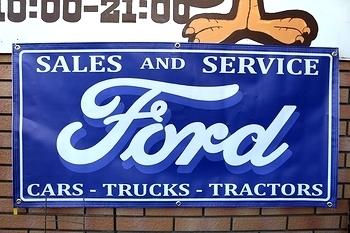 フォードバナー FORDバナー Fordバナー アメリカ雑貨屋サンブリッヂ SUNBRIDGE 岩手雑貨屋 アメリカ雑貨通販