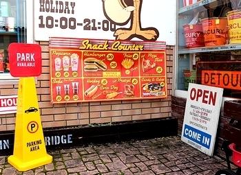 ジャンクフードバナー ハンバーガーケータリング ホットドッグバナー アメリカ雑貨屋サンブリッヂ SUNBRIDGE 岩手雑貨屋 アメリカ雑貨通販