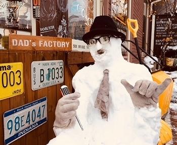 スキャットマン雪だるま アメリカン雪だるま アメリカ雑貨屋サンブリッヂ SUNBRIDGE 岩手雑貨屋 アメリカ雑貨通販
