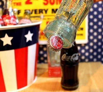 ビンコーラ栓抜き コーラボトルオープナー 1910年コーラ栓抜き アメリカ雑貨屋サンブリッヂ SUNBRIDGE 岩手雑貨屋 アメリカ雑貨通販