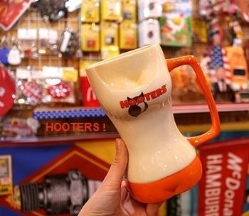 フーターズマグカップ フーターズマグ HOOTERS雑貨通販 アメリカ雑貨屋サンブリッヂ SUNBRIDGE 岩手雑貨屋 アメリカ雑貨通販