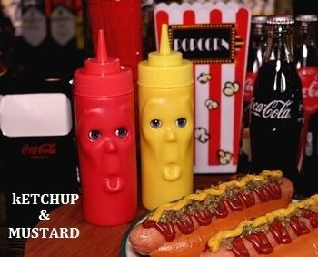 キッカーランド ケチャップ&マスタードボトル 調味料ボトル KIKKERLAND アメリカ雑貨屋 SUNBRIDGE