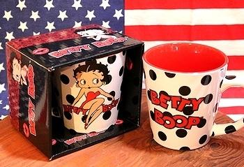 ベティブープマグカップ アメリカ直輸入 アメリカ雑貨屋 SUNBRIDGE