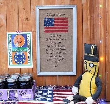 ウォールデコ看板 木製刺繍プレート アメリカンカントリーサイン アメリカ雑貨屋 サンブリッヂ 岩手