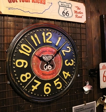 コーヒー掛け時計 アメリカン時計 アメリカ雑貨屋 サンブリッジ インテリア 岩手雑貨屋