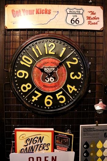 コーヒー掛け時計 アメリカン時計 アメリカ雑貨屋 サンブリッヂ インテリア 岩手雑貨屋