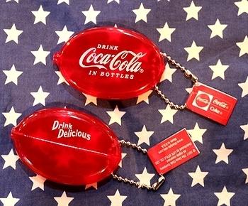 コカコーラコインケースキーホルダー アメリカン小銭入れ アメリカ雑貨屋 SUNBRIDGE 岩手 盛岡雑貨