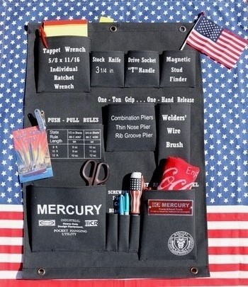 マーキュリーハンギングポケット MERCURYウォールポケット アメリカ雑貨屋 SUNBRIDGE アメリカン雑貨 岩手