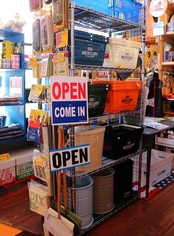 アメリカンオープン看板 プラスチックオープン看板 OPEN看板 アメリカン雑貨 アメリカ雑貨屋 サンブリッヂ SUNBRIDGE 岩手雑貨
