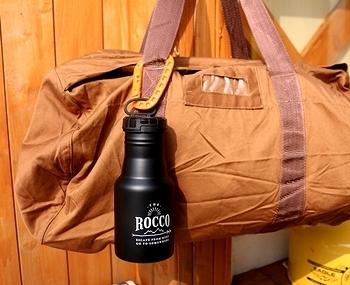 ROCCOワンタッチボトル カラビナ付きステンレスボトル 水筒 アメリカ雑貨屋 SUNBRIDGE