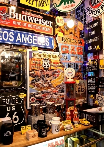 ROUTE66ポスター HODRODポスター ルート66ポスター アメリカン雑貨 アメリカ雑貨屋 サンブリッヂ SUNBRIDGE 岩手雑貨屋