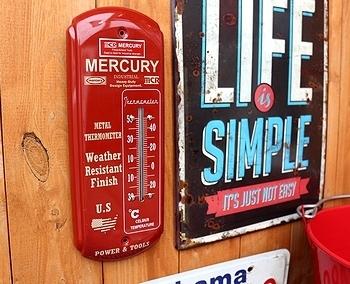 マーキュリーサーモメーター マーキュリー温度計 アメリカン雑貨 アメリカ雑貨屋 サンブリッヂ SUNBRIDGE 岩手雑貨屋