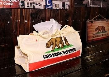 カリフォルニアティッシュケース カリフォルニアスタイル アメリカ雑貨屋 サンブリッヂ SUNBRIDGE 岩手雑貨屋