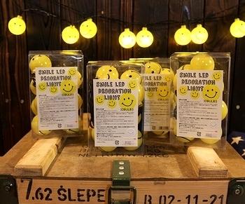 スマイルパーティーライト スマイルLEDライト スマイルライト アメリカ雑貨屋 サンブリッヂ SUNBRIDGE 岩手雑貨屋