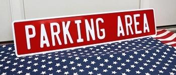 駐車場看板 パーキングエリア看板 ストリート看板 アメリカ雑貨屋 サンブリッヂ SUNBRIDGE 岩手雑貨屋