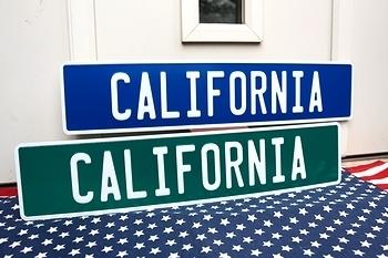カリフォルニア看板 ストリート看板 アメリカ雑貨屋 サンブリッヂ SUNBRIDGE 岩手雑貨屋