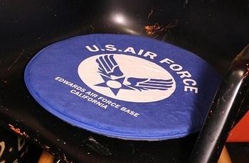 チェアーバッド ルート66 エアフォース アメリカンスツール ミニ座布団  アメリカ雑貨屋 SUNBRIDGE 岩手