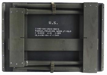 USフォールディングテーブル ミリタリデスク