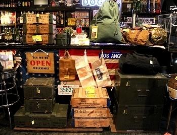 アメリカ雑貨屋 アメリカン雑貨 ミリタリー雑貨 ミリタリー木箱 軍放出 サンブリッヂ SUNBRIDGE