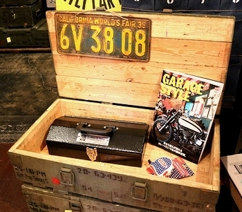 ポーランド軍ロングアンモボックス ミリタリー木箱 ミリタリー雑貨 アメリカ雑貨屋 SUNBRIDGE