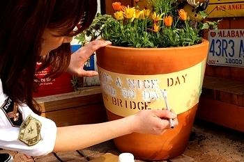 アメリカン鉢植え おしゃれ鉢植え アメリカン雑貨 アメリカ雑貨屋 サンブリッヂ SUNBRIDGE 岩手雑貨屋