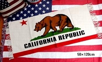 カリフォルニアロングマット カリフォルニアスタイル アメリカ雑貨屋 サンブリッヂ SUNBRIDGE 岩手雑貨屋