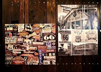 ルート66ポスター ROUTE66ポスター アメリカンポスター アメリカ雑貨屋 サンブリッヂ SUNBRIDGE 岩手雑貨屋 アメリカン雑貨