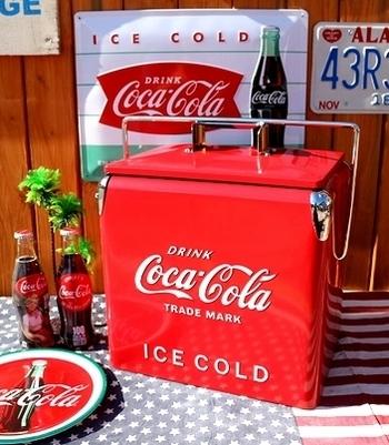 コカコーラクーラーボックス アメリカ雑貨屋 サンブリッヂ SUNBRIDGE 岩手雑貨屋