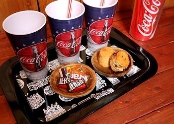 コカコーラトレー コーラお盆トレー アメリカ雑貨屋 サンブリッヂ SUNBRIDGE 岩手雑貨屋