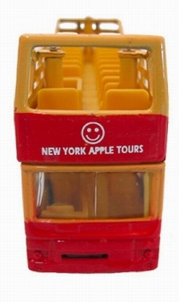 ニューヨークアップルツアーズプルバックカー アップルツアーズ ミニカー アメリカ雑貨屋 SUNBRIDGE